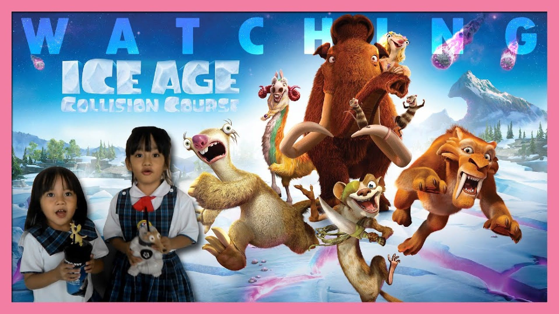 watching ice age  collision course premiere at xxi aeon