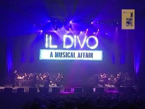 Концерт квартета Il Divo в Екатеринбурге