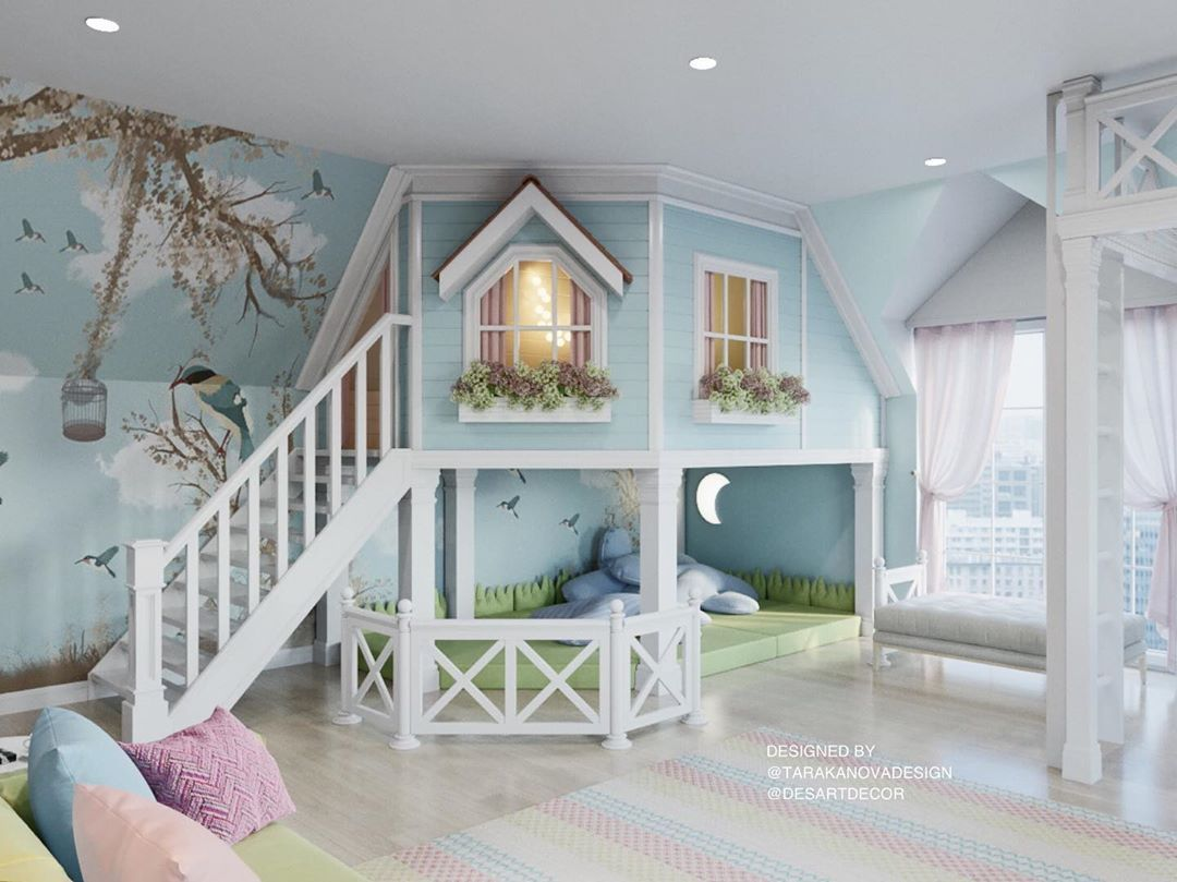 40 Simple And Creative Ways To Turn Your Home Into Every Kid S Dream Awesome Bedrooms Kids Bedroom Interior Design Career Dream bedroom interior design