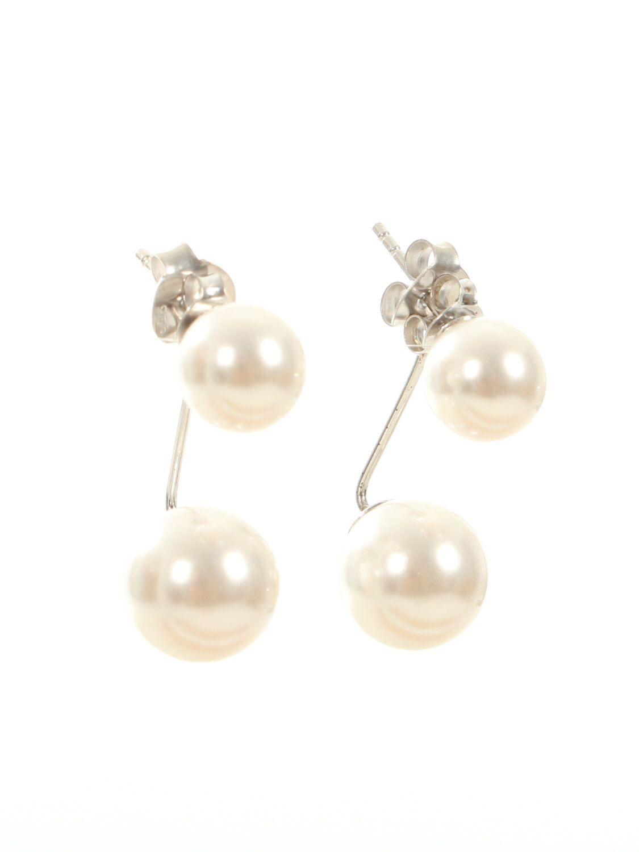 Pearl Earrings Set Wedding Jewellery Bridal Earings Floating Real Studs Sterling Silver Earring Bridesmaid Pinterest