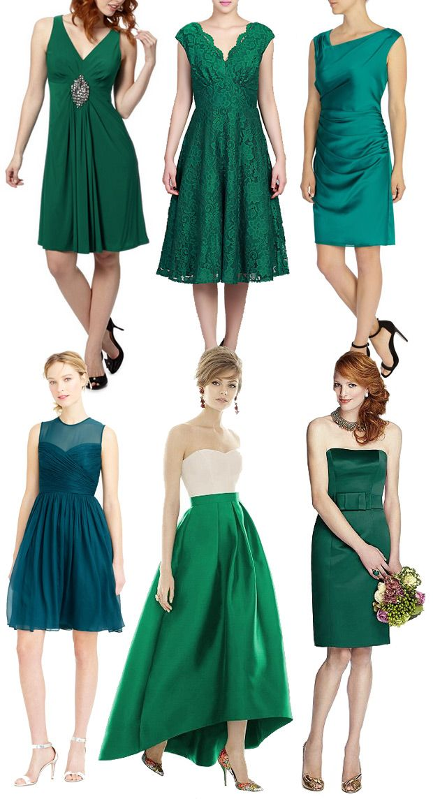 Gorgeous Short Green Bridesmaids Dresses Inspiration And Where To Www Onefabday