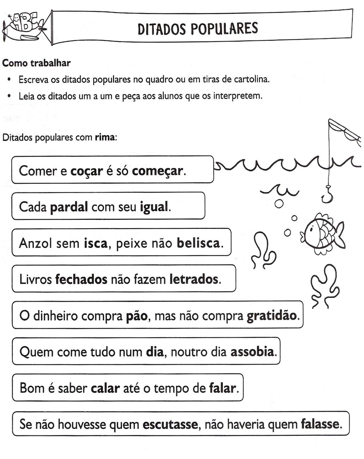 Pin De Tania Correia Em Proverbios E Ditados Populares Com