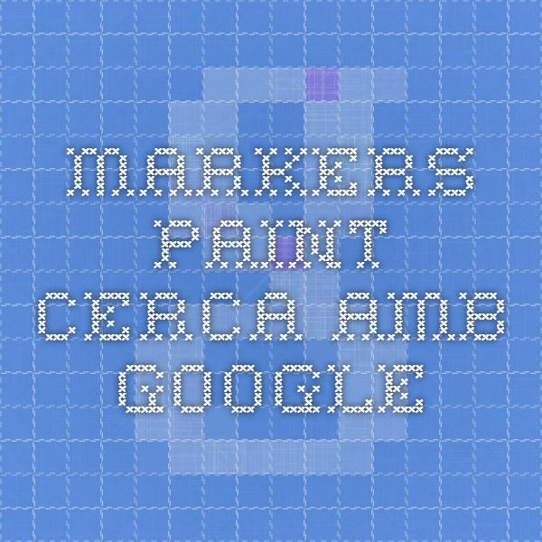 markers paint - Cerca amb Google