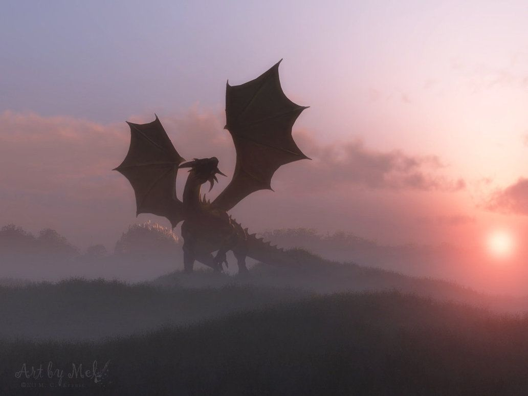 """""""A dragon of silver waits on a field of blue / keeping her watch over all the brave and true. / If evil should dare to return, she knows what to do. / When the time comes to fight, the dragon will rise."""" ~Ash Brownd"""