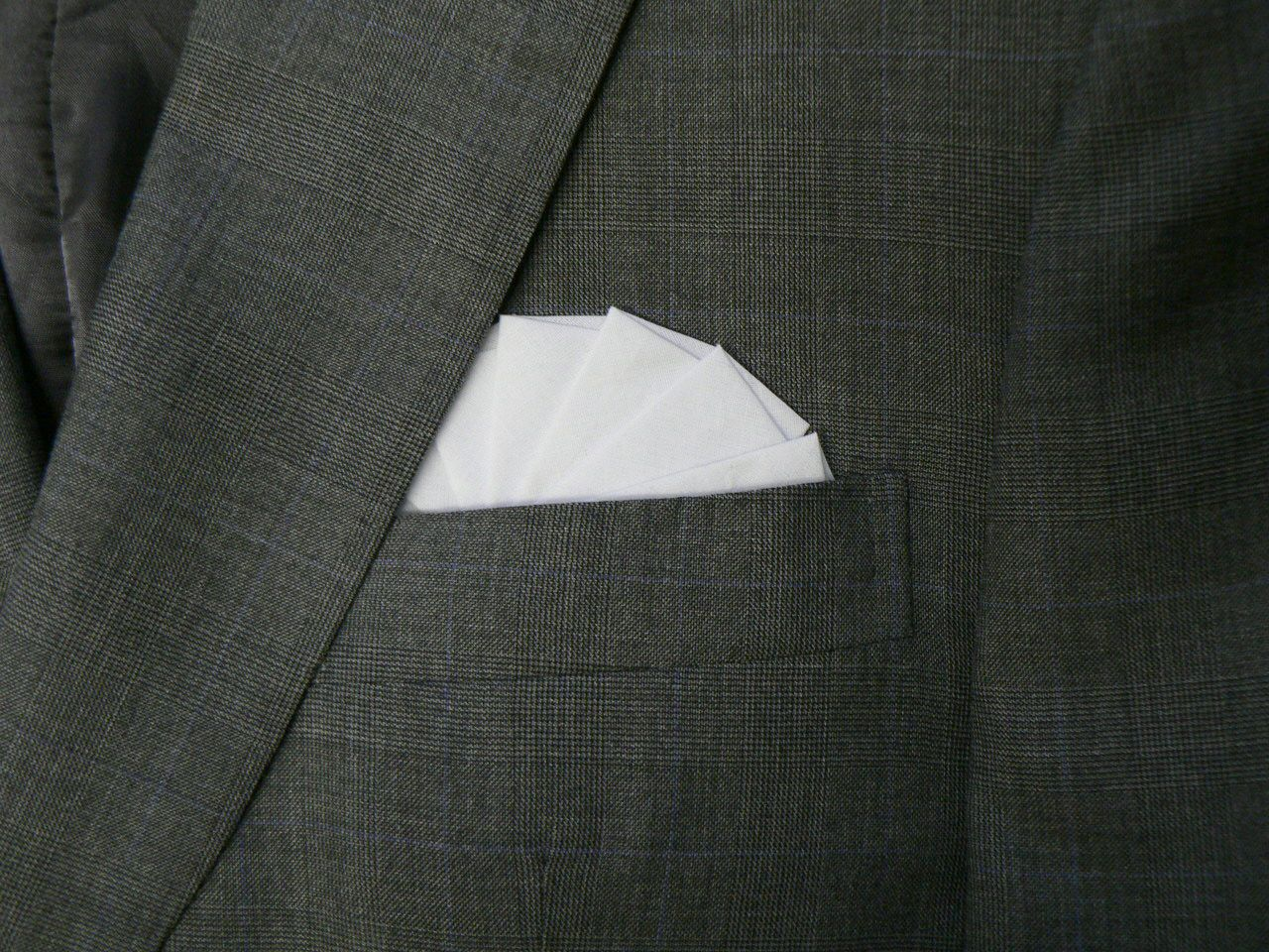 The perfect pocket square