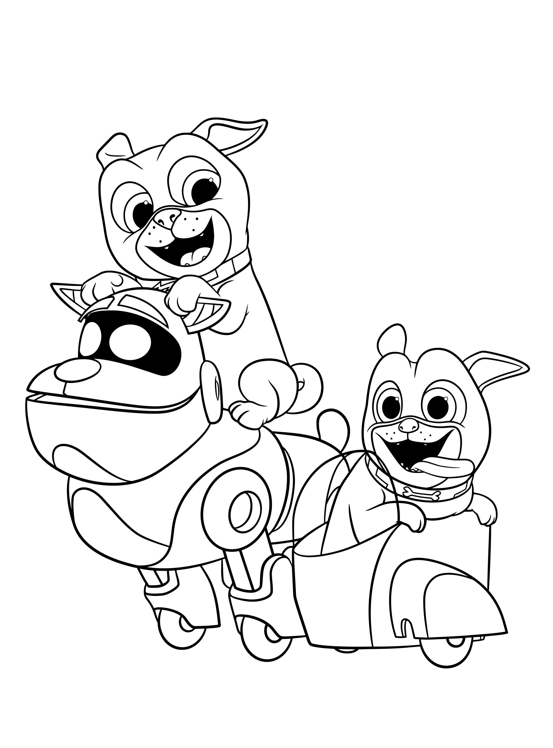 puppy pals coloring pages Puppy Dog Pals Coloring Pages – Through the thousands of photos on  puppy pals coloring pages