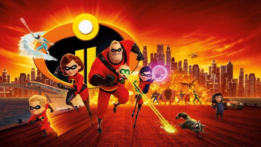 الأبطال الخارقون 2 ثاني أكثر أفلام الرسوم المتحركة تحقيقا للإيرادات في التاريخ سينماتوغراف Los Increibles Personajes Los Increibles Peliculas De Pixar