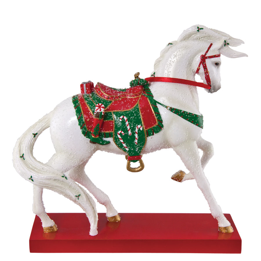 Retired - Santa's Stallion Trail of Painted Ponies Figurine,  Browse our current selection of Trail of Painted Ponies figurines
