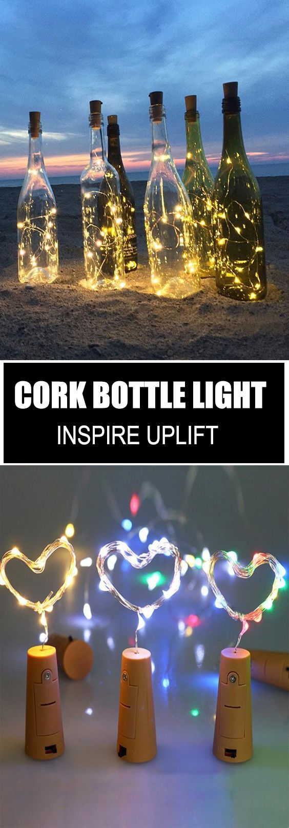 Cork Wine Bottle String Light - ★★★★★ (5/5) images