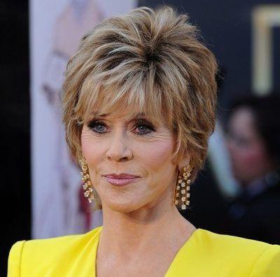 30 Best Jane Fonda Hairstyles Jane Fonda Hairstyles Short Hair Styles Older Women Hairstyles