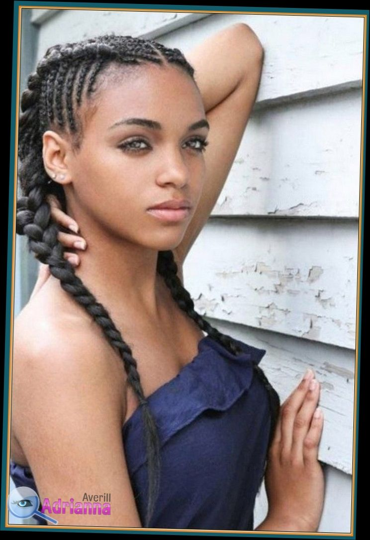 Hairstyles For Black Teenage Girl With Short Natural Hair You