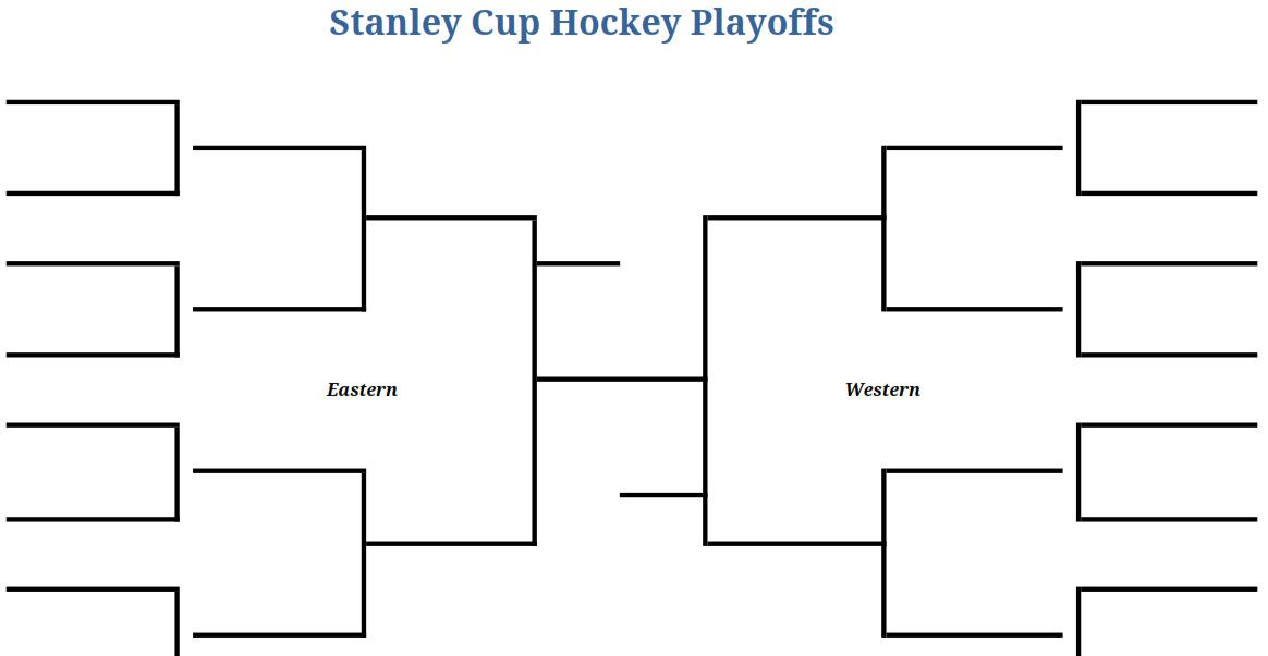 Mesmerizing image throughout nhl bracket printable