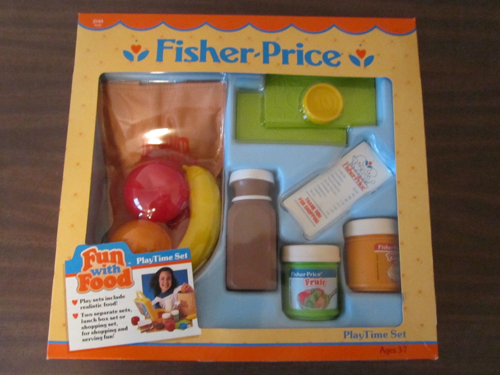 Fisher Price Toy Food : Fisher price fun with food playtime set shopping pudding