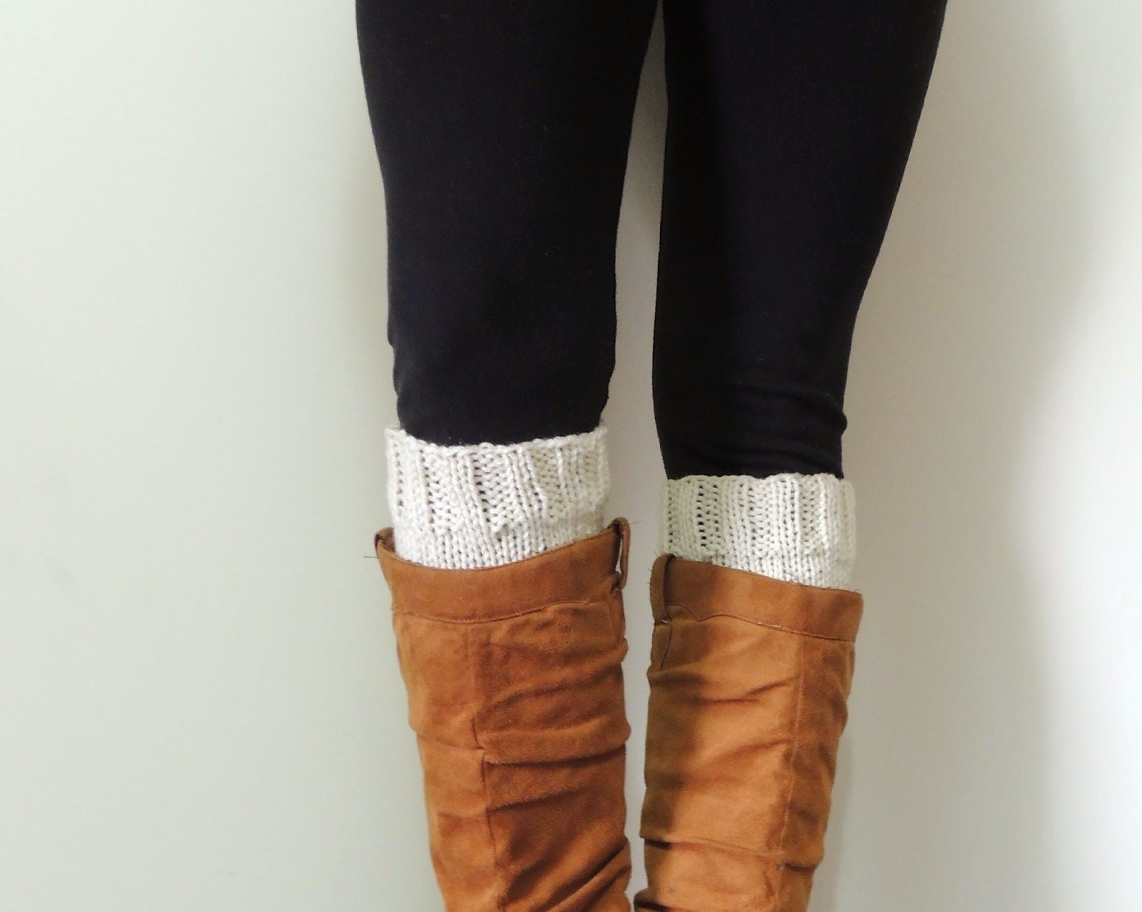 Lewis Knits: Basic Boot Cuff Knitting Pattern (I\'d also like to add ...