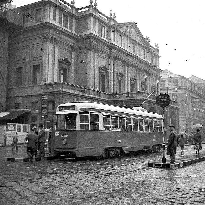 Rete Tranviaria Di Milano Milano Foto Storiche Vecchie Foto