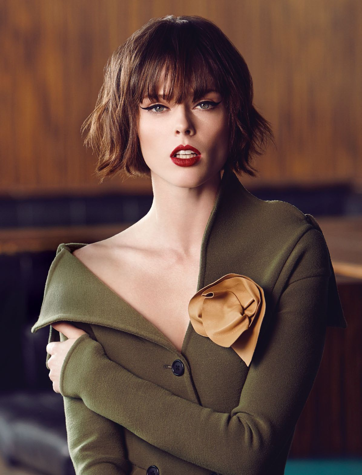 Coco Rocha by Andrew Soule for Flare November 2014