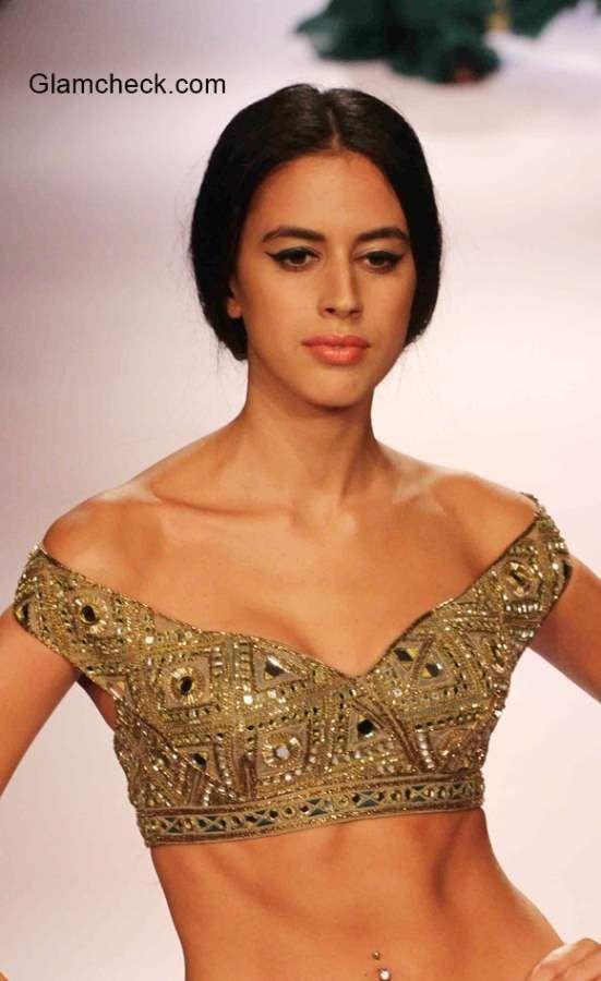 off shoulder saree blouse | blouse designs, off shoulder