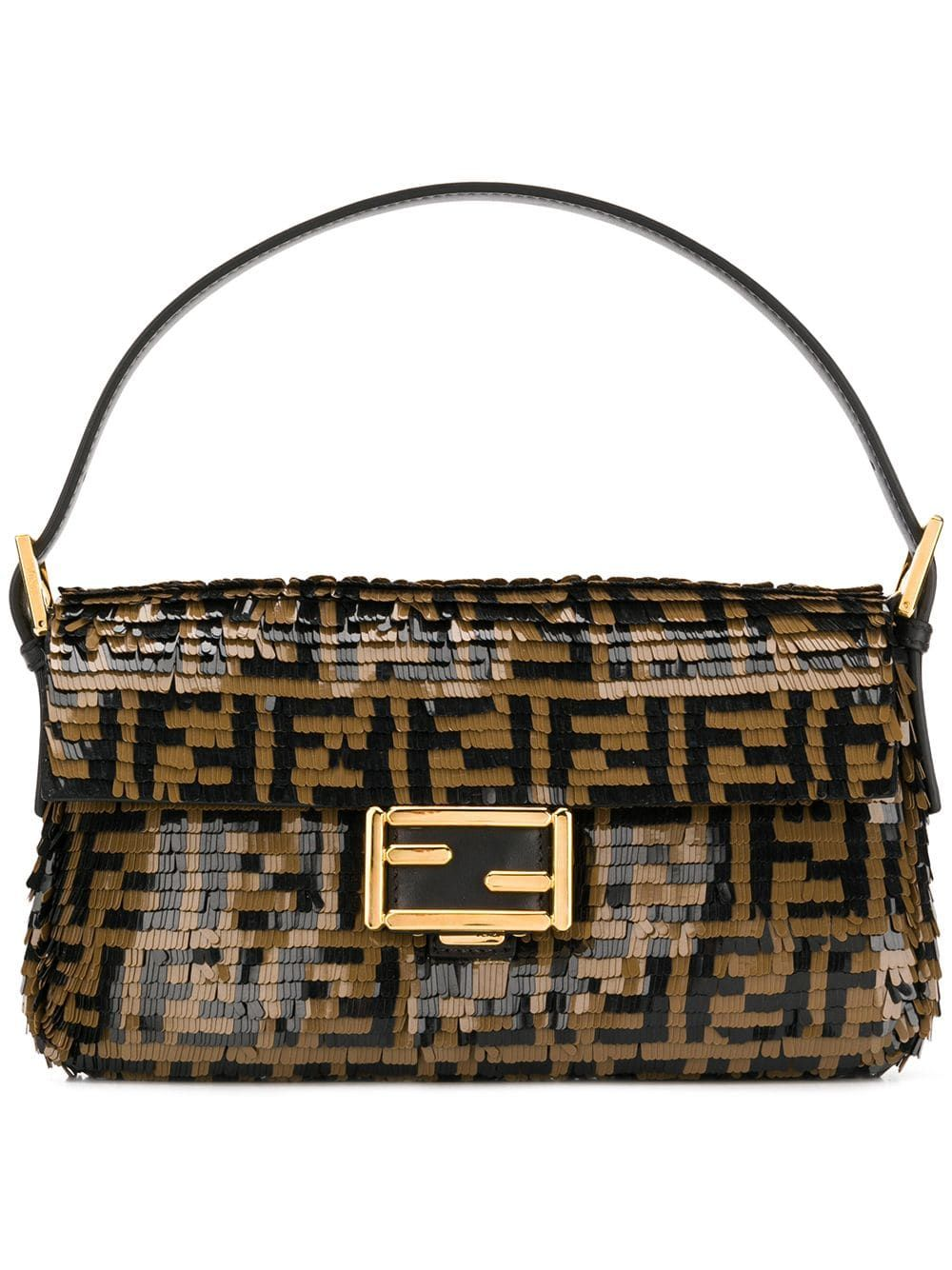 d7e7a623e2ac Fendi Baguette shoulder bag - Black