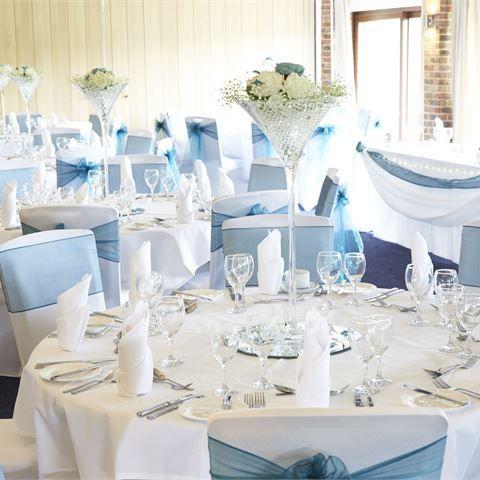 Inspiration Gallery For Blue Wedding Decor Blue Wedding Decorations Blue Wedding Centerpieces Baby Blue Weddings