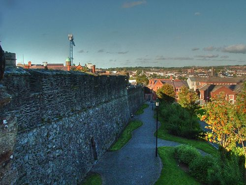 Part of the Derry Wall