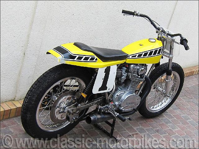 yamaha 650 flat track racers | For Sale: Ex-Kenny Roberts