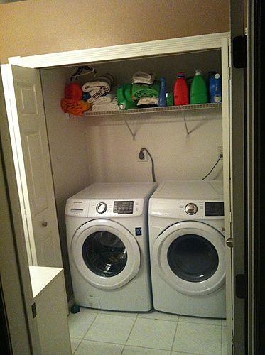 Increasing Depth Of Laundry Closet Laundry Room Renovation Laundry Closet Build A Closet