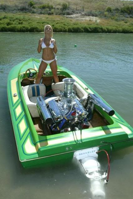 Airboat hottie nude yes the