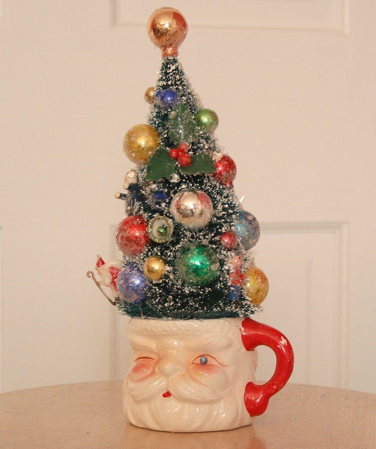 Retro christmas beginnings - Manualidades de navidad en tela ...