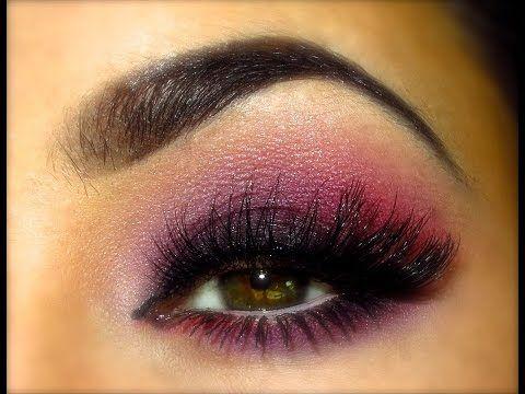 Pop of Purple ♡ Full Face Tutorial - YouTube