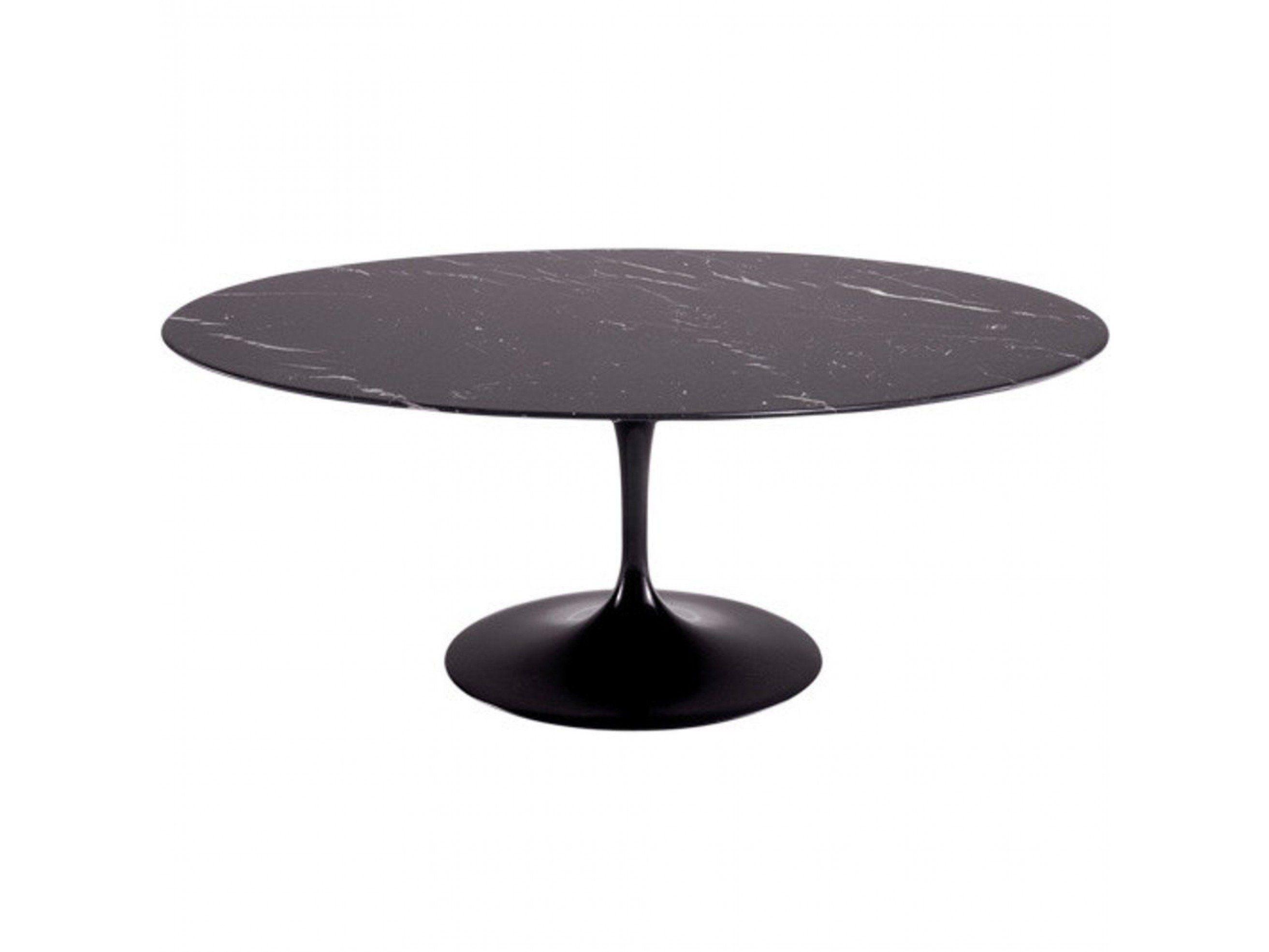 eero saarinen tulip style oval marble top table 78 m d d