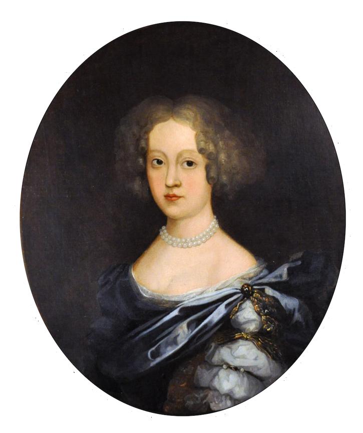 ca. 1680 Jeune Dame De Qualité by school of Pierre Mignard
