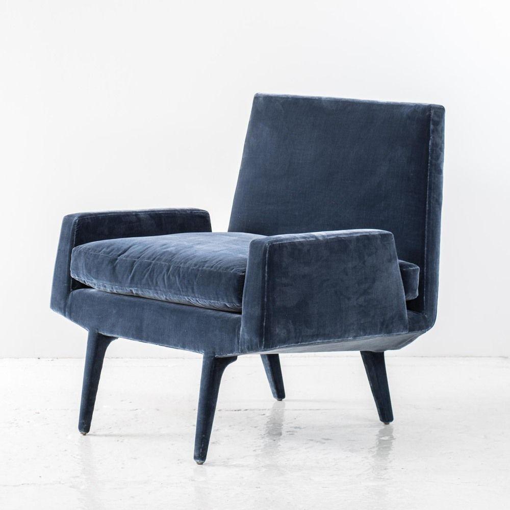 Royal Blue Silk Velvet