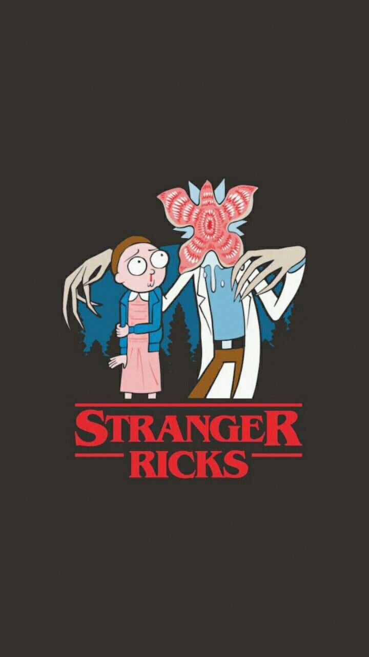 Wallpaper Funny Rick And Morty Tattoo Chicano Stranger Things Random Cartoons Starry Night Sky Backgrounds