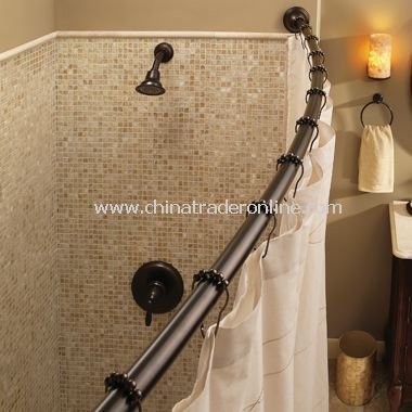 Moen Adjustable Shower Rod Bronze Or Brushed Nickle Also For My