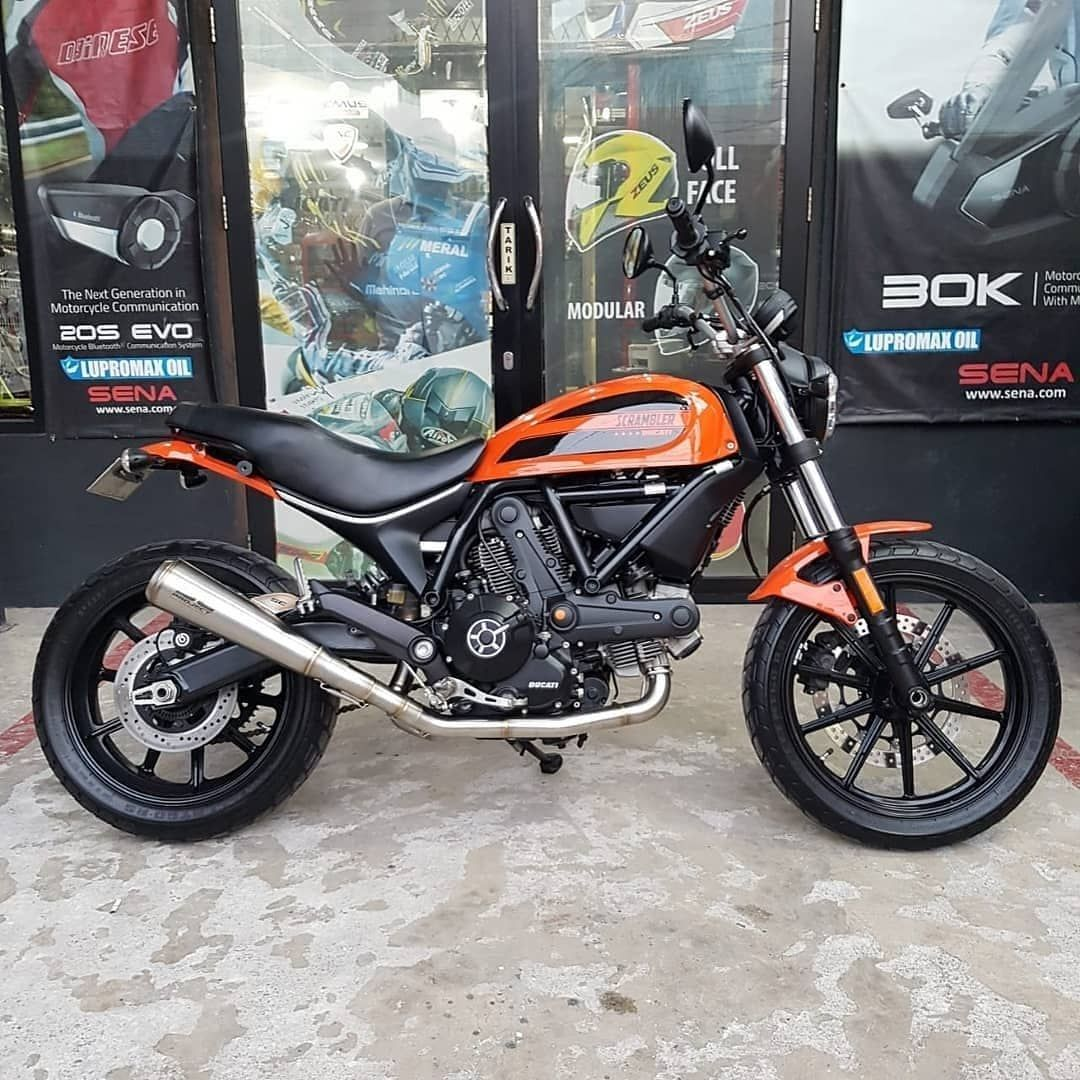 Joss Nih Brader Sc Project Conic 70 S Full System Untuk Ducati