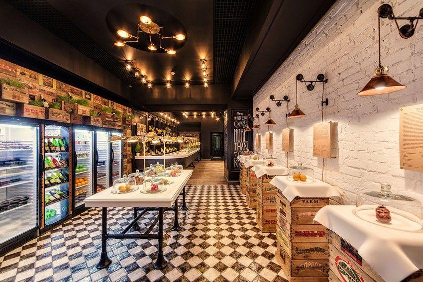 Healthy Living Promoted By Vintage Style Rambutan Fruit Studio In Kiev Fruit Shop Shop Design Vegetable Shop