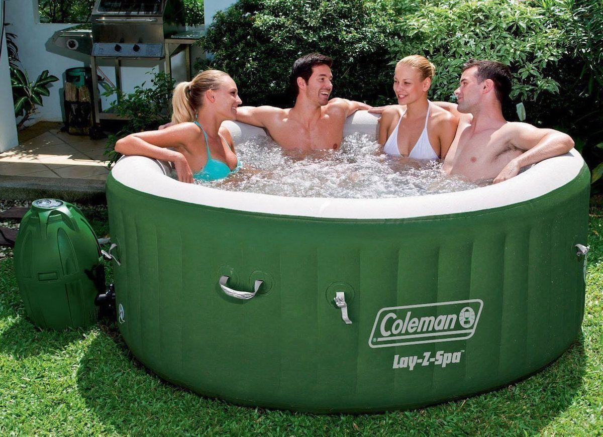 10 Genius Ways To Make Your Backyard A Blast Inflatable Hot Tubs Hot Tub Reviews Hot Tub
