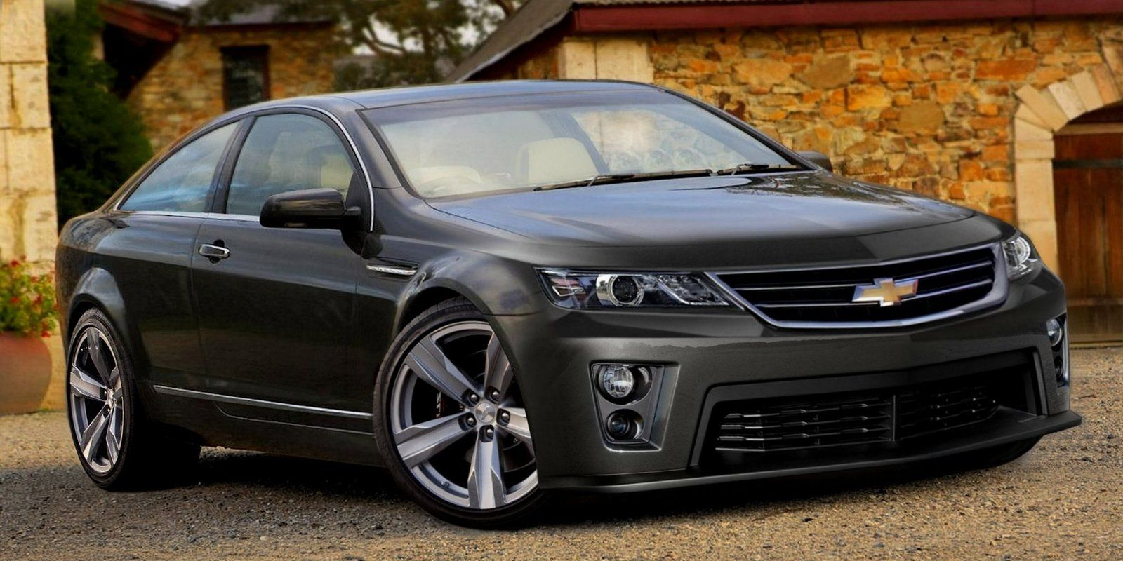 2014 chevrolet ss performance sedan with racing dna coupe rendering