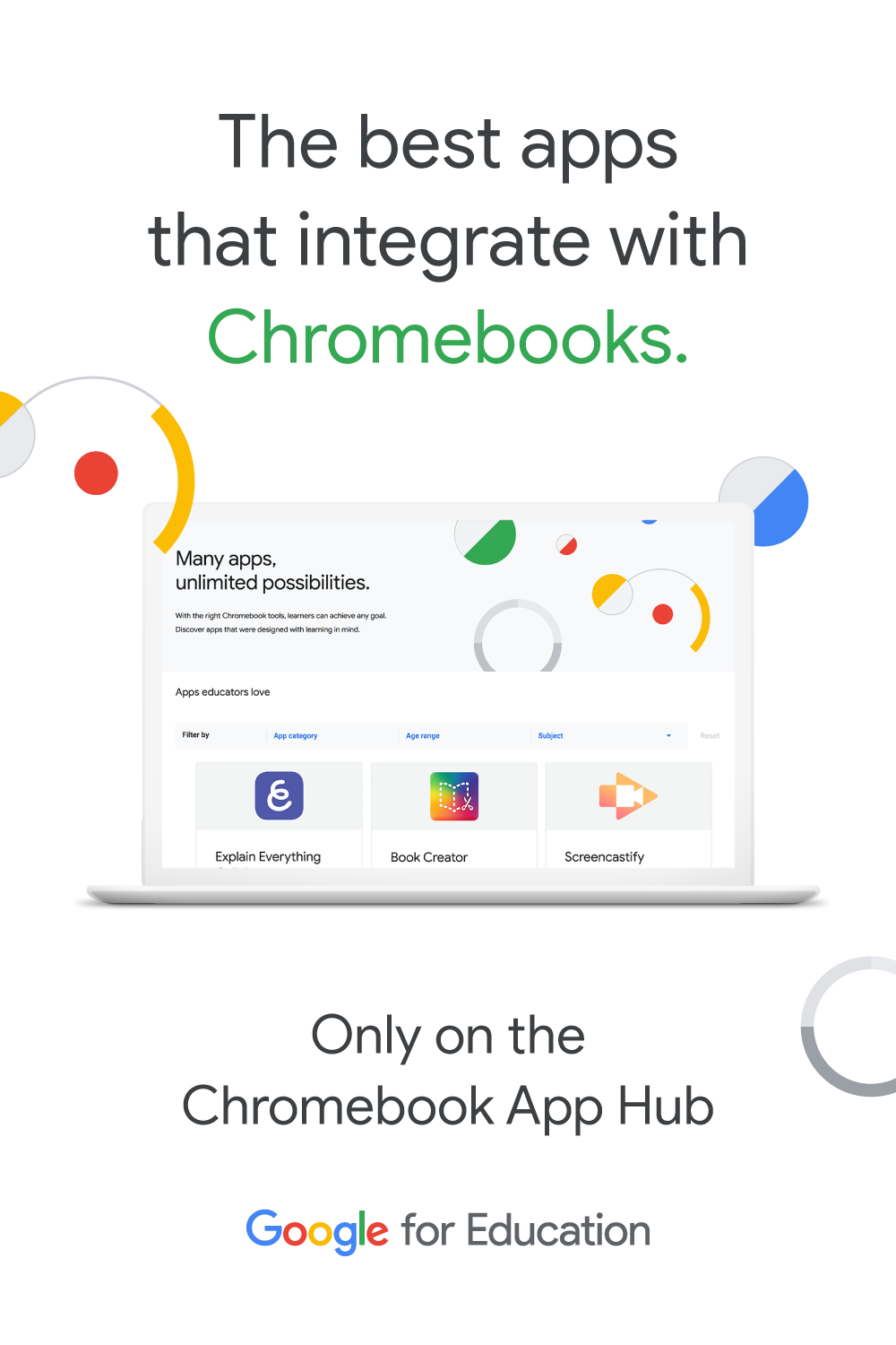 The Chromebook App Hub is the perfect resource for