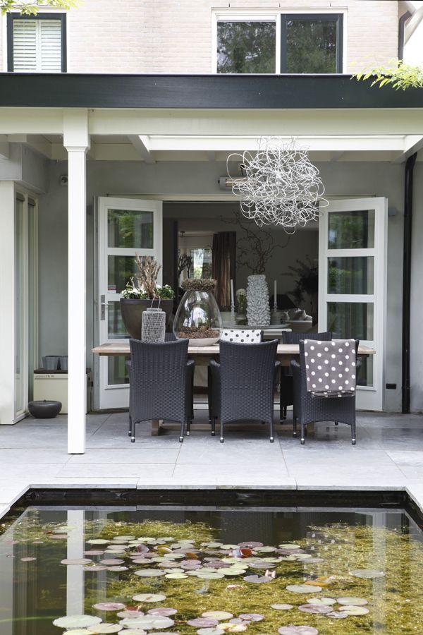 Lovely veranda huis buitenkant pinterest veranda tuin en terras - Buiten terras model ...