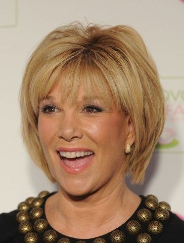 Joan London Sleek Short Hairstyle