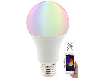 luminea wlan led lampe komp mit alexa voice service e27 - Led Lampen Ewatt