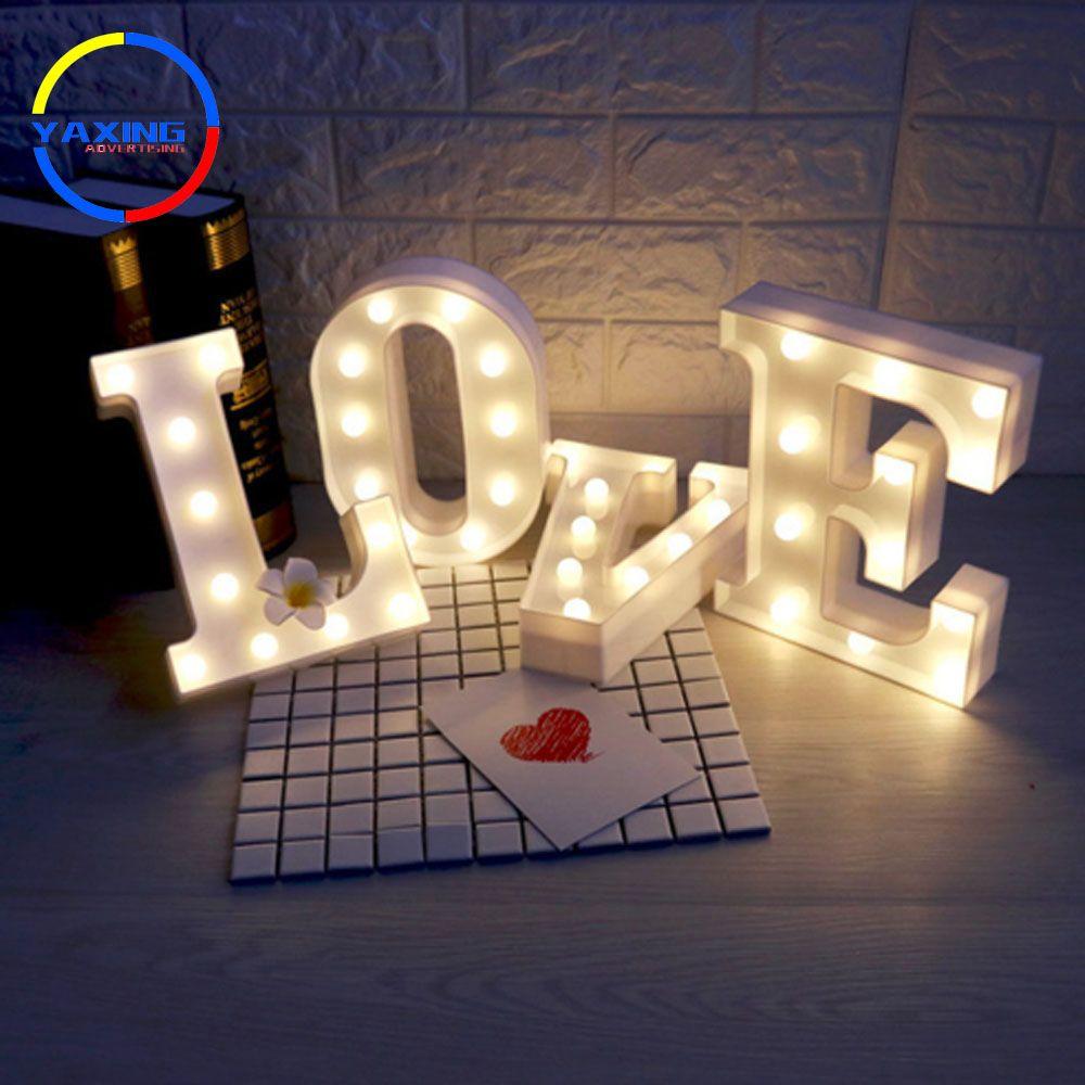 Christmas Decoration Marquee Letters 3d Plastic Acrylic Letters 3d Sign Letters 3d Signs Acrylic Alphabe Letras De Luces Luces De La Noche Lucecitas Decoracion