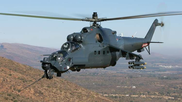 Zvezda ZVD-7276 1/72 Mil Mi-35 `Hind-E` Russian Attack Helicopter ...
