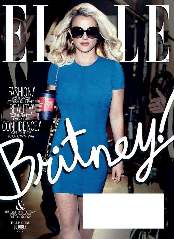 Britney Spears for Elle October 2012