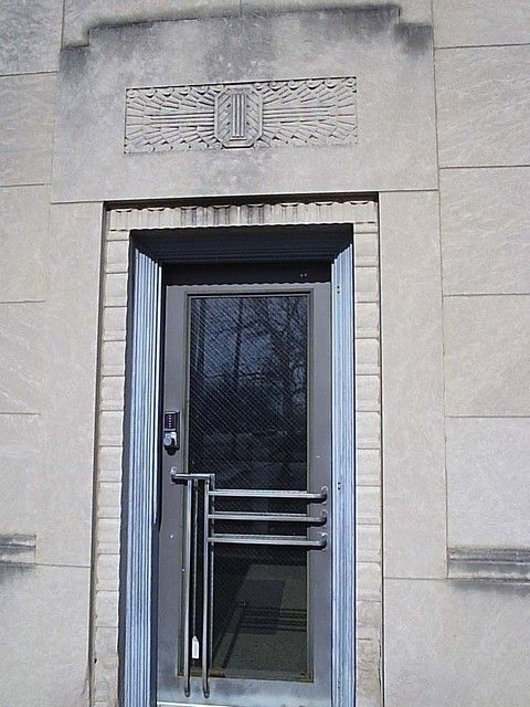 Art Deco Front Doors | Click On The Thumbnail Photo To View A Larger Image.