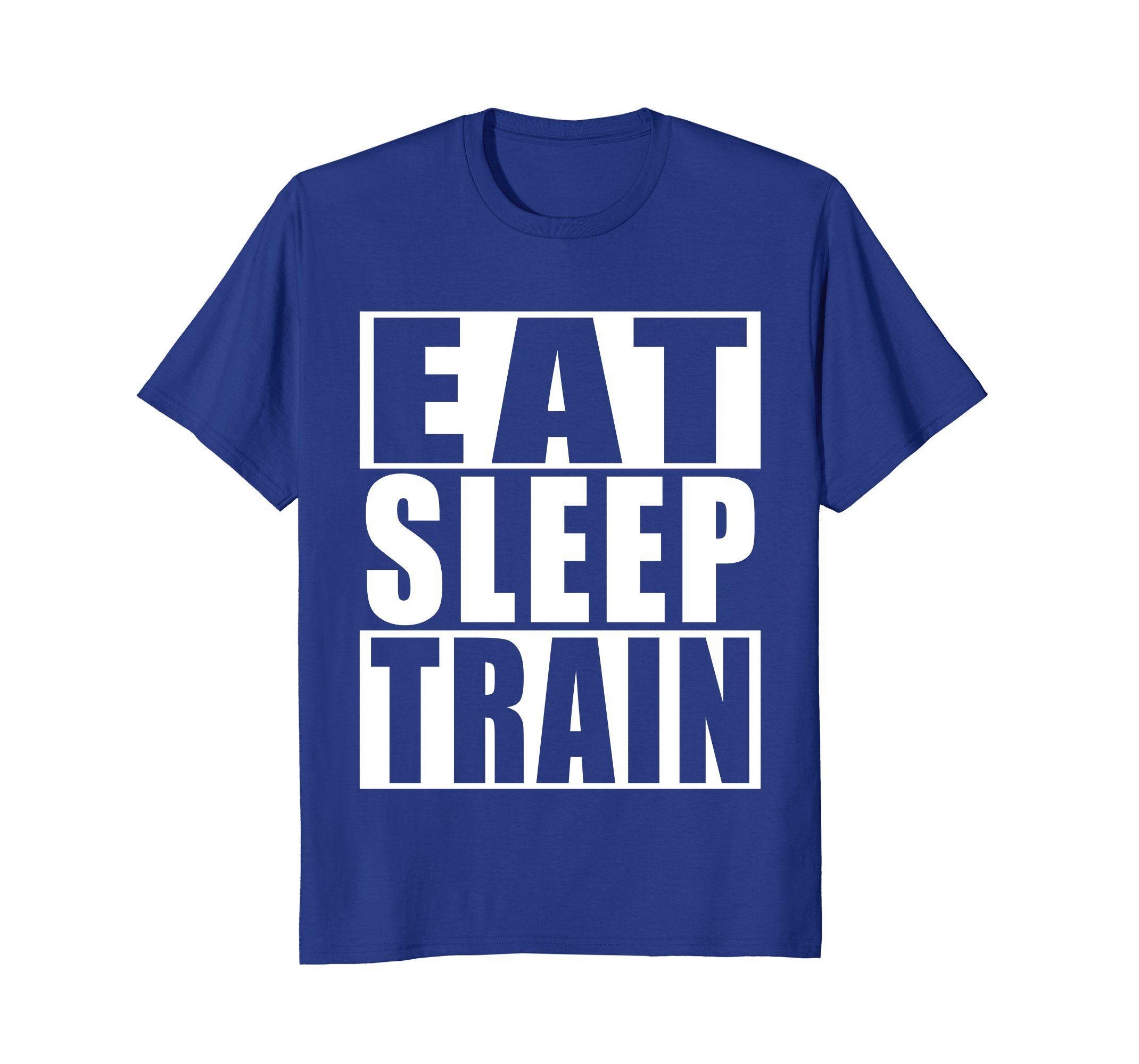 dd8a83c043 Amazon.com: Eat, Sleep, Fitness Training, Gym T-shirt: Clothing ...