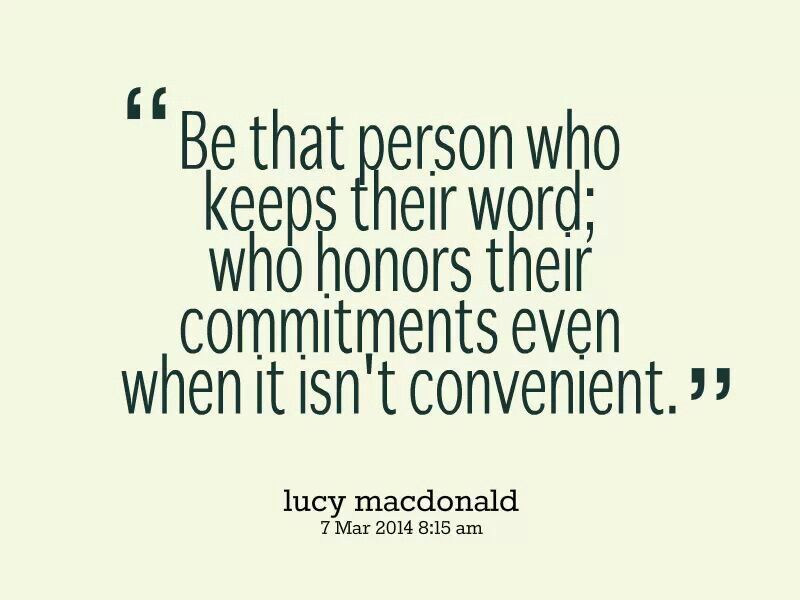 Word Of Honor Quotes 1