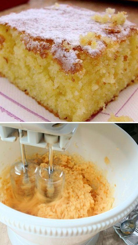 Torta de naranja riquísima con almíbar de naranja is part of Cupcake cakes - Esta deliciosa torta de naranja bañada con almíbar de cítrico queda exquisita y eso la ha hecho la favorita entre nuestros seguidores de Facebook ✅