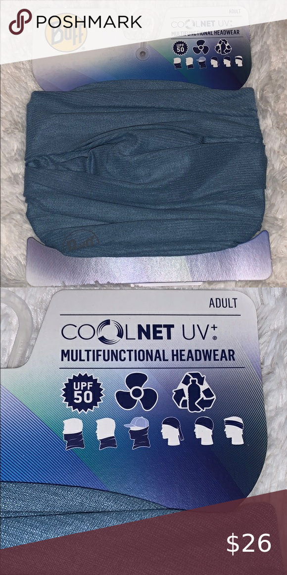 Mejorar trabajo Coronel  BUFF COOLNET UV+ MULTIFUNCTIONAL HEADWEAR Good looking blue BUFF is UPF 50,  has cooling effect and moisture manage… in 2020 | How to look better,  Headwear, Mens accessories
